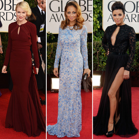 Long Sleeves Can Be Sexy — Just Ask These Golden Globes Stars