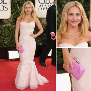 Hayden Panettiere | Golden Globes Red Carpet Fashion 2013