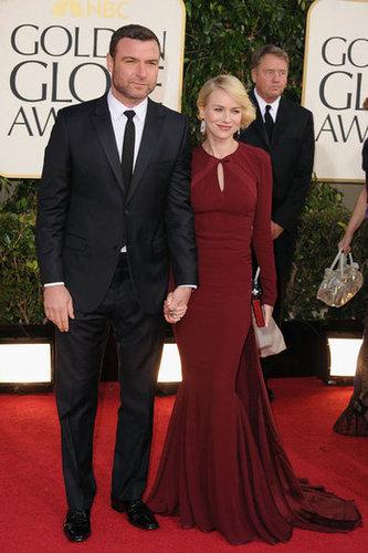 Liev Schreiber and Naomi Watts