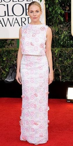 Sienna Miller(2013 Golden Globes Awards)