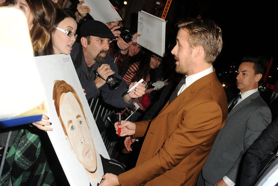 Ryan Gosling signed autographs.