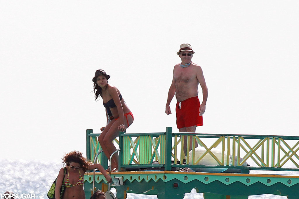 Rosario Dawson and Danny Boyle went swimming together.
