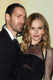 Kate Bosworth and Michael Polish attended the Audi Golden Globes party in LA.