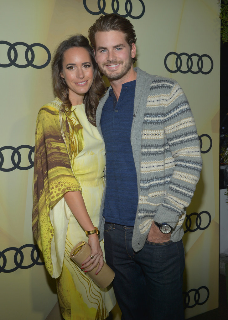 Louise Roe and Josh Slack were out in LA.