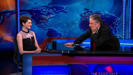 Anne Hathaway Reveals Her Big Les Mis Blooper