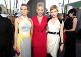 Diane Kruger, Busy Philipps, and Michelle Williams posed together in 2012.