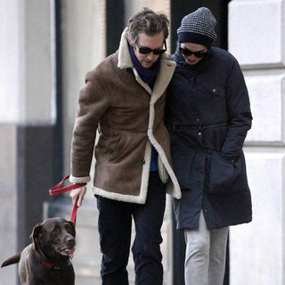 Anne Hathaway and Adam Shulman Walking in NYC | Pictures