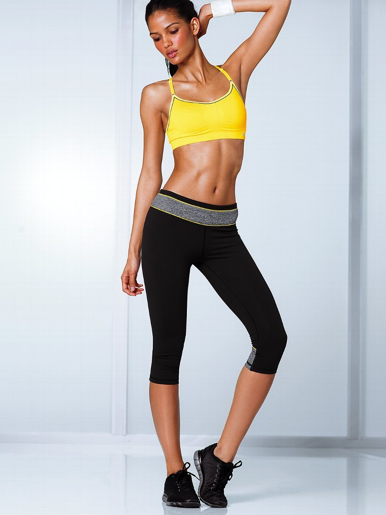 Victoria's Secret's VSX Sport VS knockout crop pants ($60-$63) are high on quality and affordability.