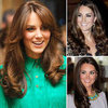 Kate Middleton Hair Evolution