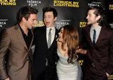Roberto Aguire, Chris Colfer, Sarah Hyland and Matt Prokop