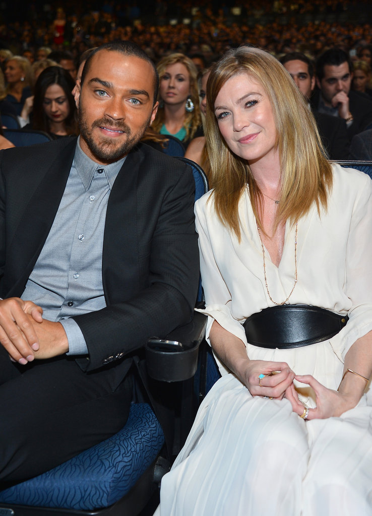 Jesse Williams and Ellen Pompeo