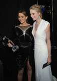 Jennifer Lawrence and Taylor Swift