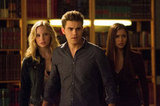Caroline, Stefan (Paul Wesley), and Elena make a very attractive team.