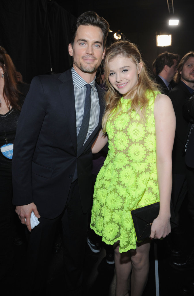Matt Bomer and Chloë Moretz