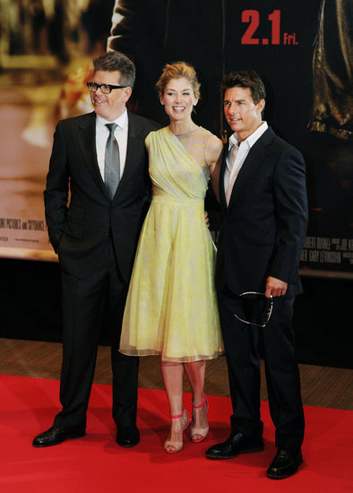 Jack Reacher premiered in Japan.