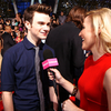 Chris Colfer People&#039;s Choice Awards Video Interview