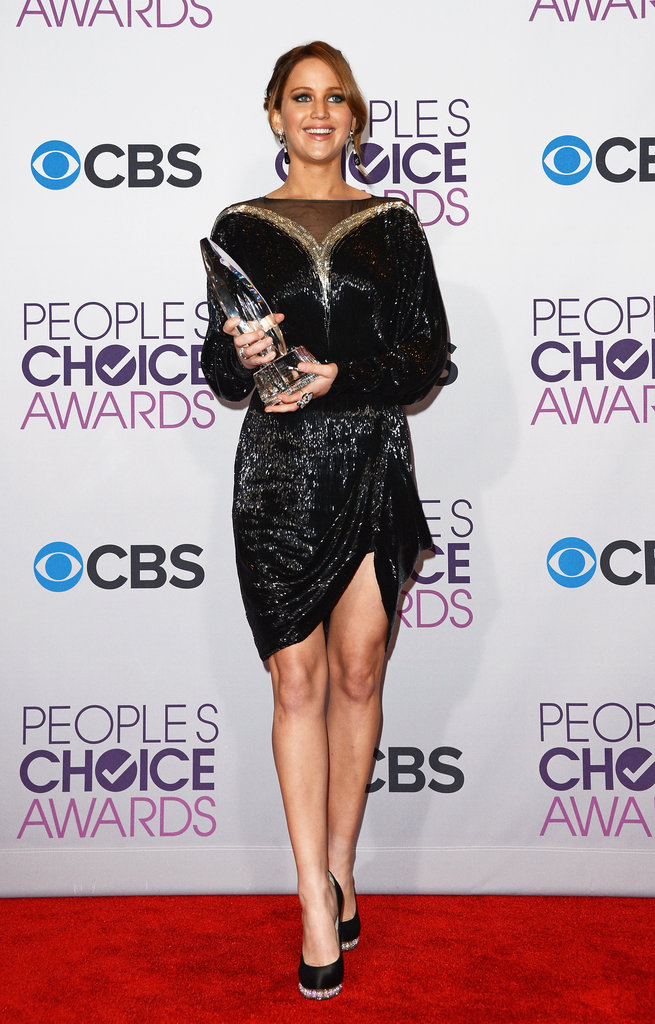 Jennifer Lawrence wore Valentino Couture for the PCAs.