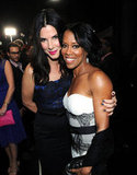 Sandra Bullock and Regina King smiled for the cameras.