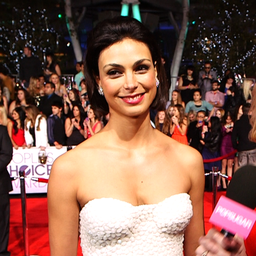 Homeland's Morena Baccarin Video Interview at PCAs