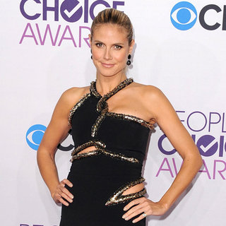 Heidi Klum at the People's Choice Awards 2013 Pictures