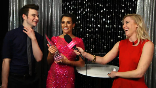 Video: Lea and Chris Share Post PCAs Plans — Couch and Downton Abbey!