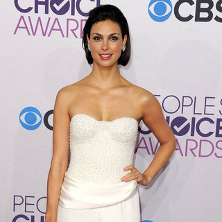 Morena Baccarin in White at People's Choice Awards 2013