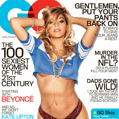 Beyonce Sexy GQ Magazine Cover Pictures February 2013