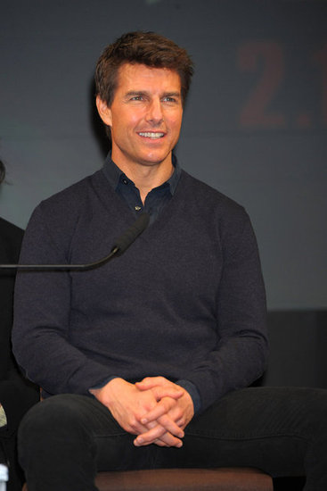 Tom Cruise chatted with the Japanese press.