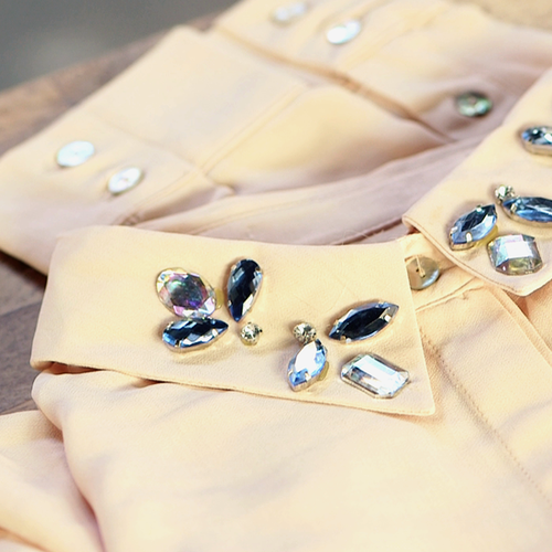 DIY Embellish Your Blouse Tutorial (Video)