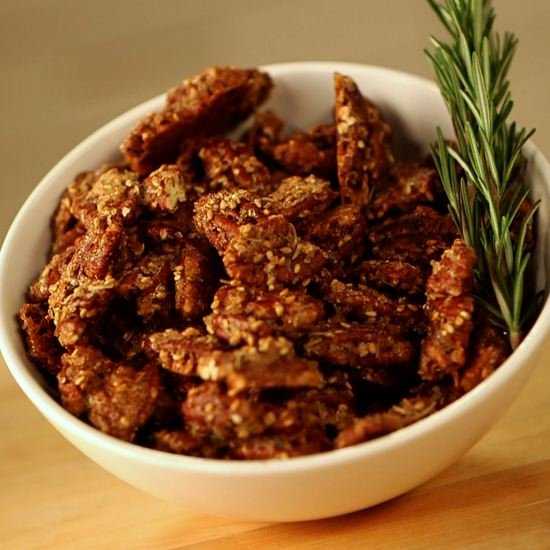 For the Snacker: Rosemary-Spiced Pecans
