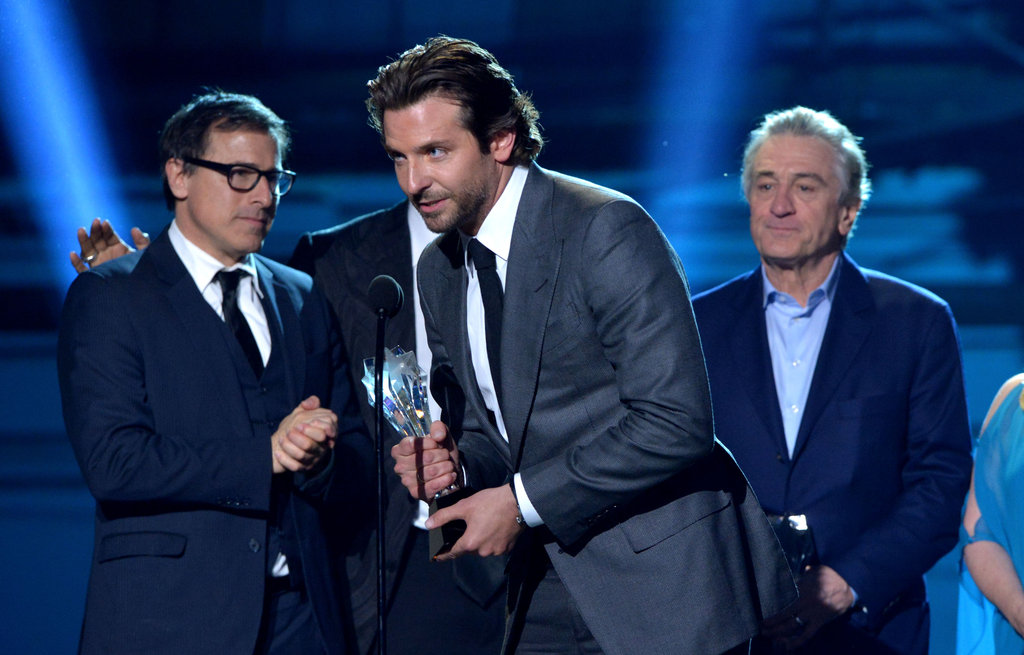 David O. Russell, Bradley Cooper, and Robert De Niro