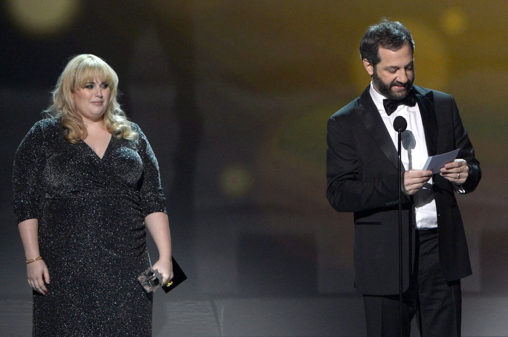 Rebel Wilson and Judd Apatow