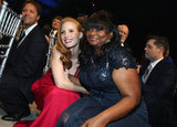 Jessica Chastain and Octavia Spencer