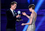 Eddie Redmayne and Anne Hathaway