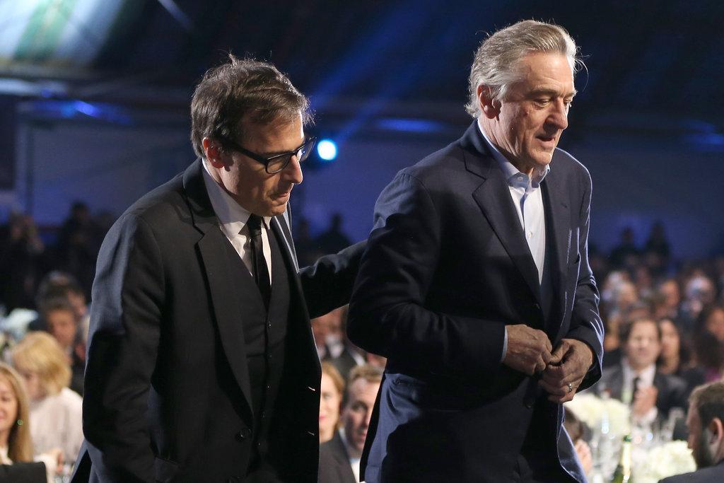 David O. Russell and Robert De Niro