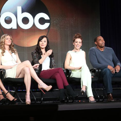 Mistresses TV Show TCA Interview With Alyssa Milano