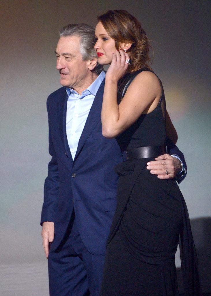 Robert De Niro and Jennifer Lawrence