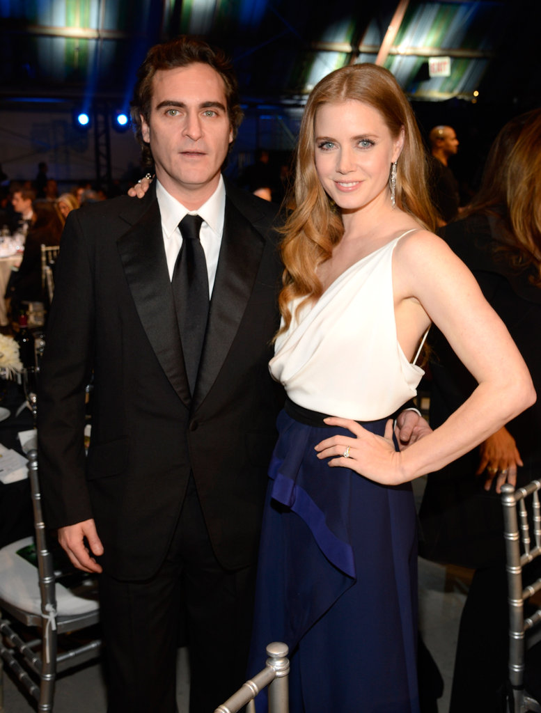 Joaquin Phoenix and Amy Adams