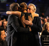 David O. Russell, Jennifer Lawrence, and Robert De Niro