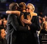 David O. Russell, Jennifer Lawrence, and Robert De Niro