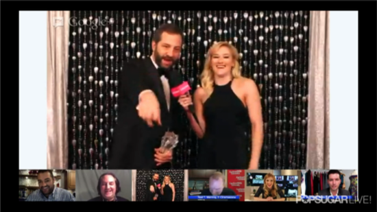 Video: Judd Apatow Reacts to His Genius Award Win at Critics' Choice