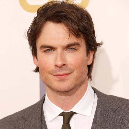 Ian Somerhalder on the Critics' Choice Awards Red Carpet
