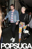 Miley and Liam Walk Hand in Hand After Harry Styles Controversy