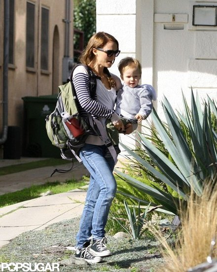Natalie Portman took Aleph out in LA.