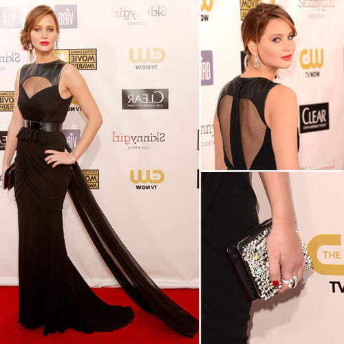 Jennifer Lawrence Prabal Gurung 2013 Critics' Choice Awards