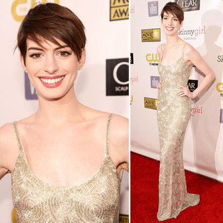 Anne Hathaway at Critics' Choice Awards 2013