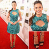 Nina Dobrev in Monique Lhullier: 2013 Critics' Choice Awards