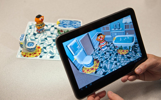 Sesame Street and Qualcomm's Vuforia Augmented Reality Platform