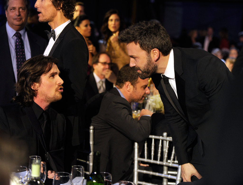 Christian Bale and Ben Affleck