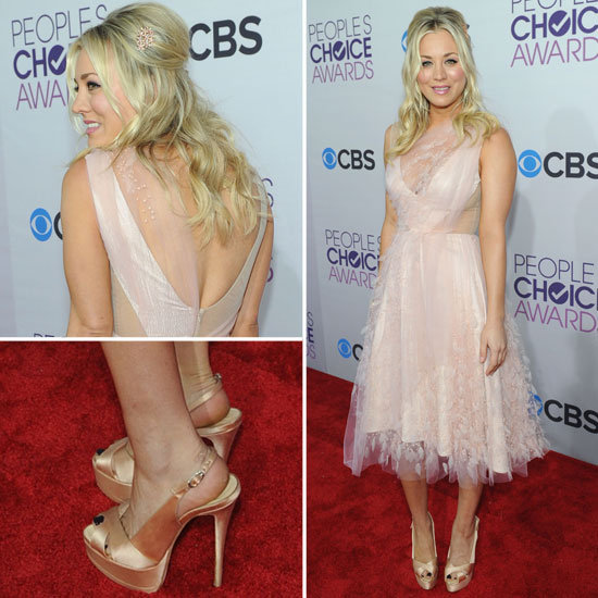 Pictures of Kaley Kuoco at the 2013 People's Choice Awards